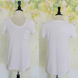 Stylus White Relaxed Fit Blouse